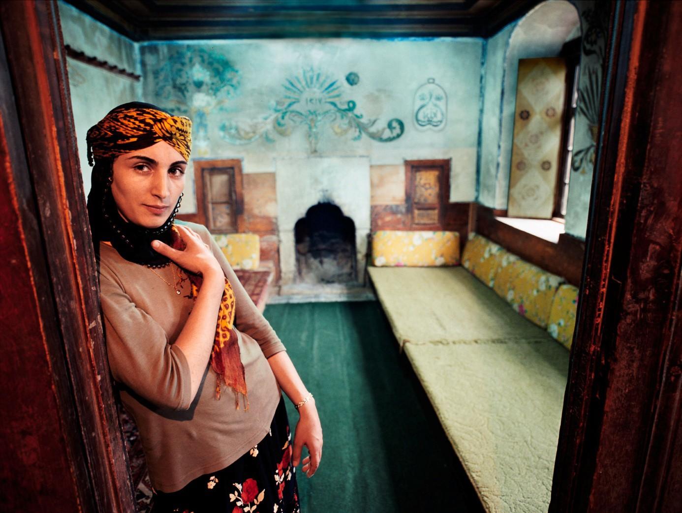 Frau in Anatolien