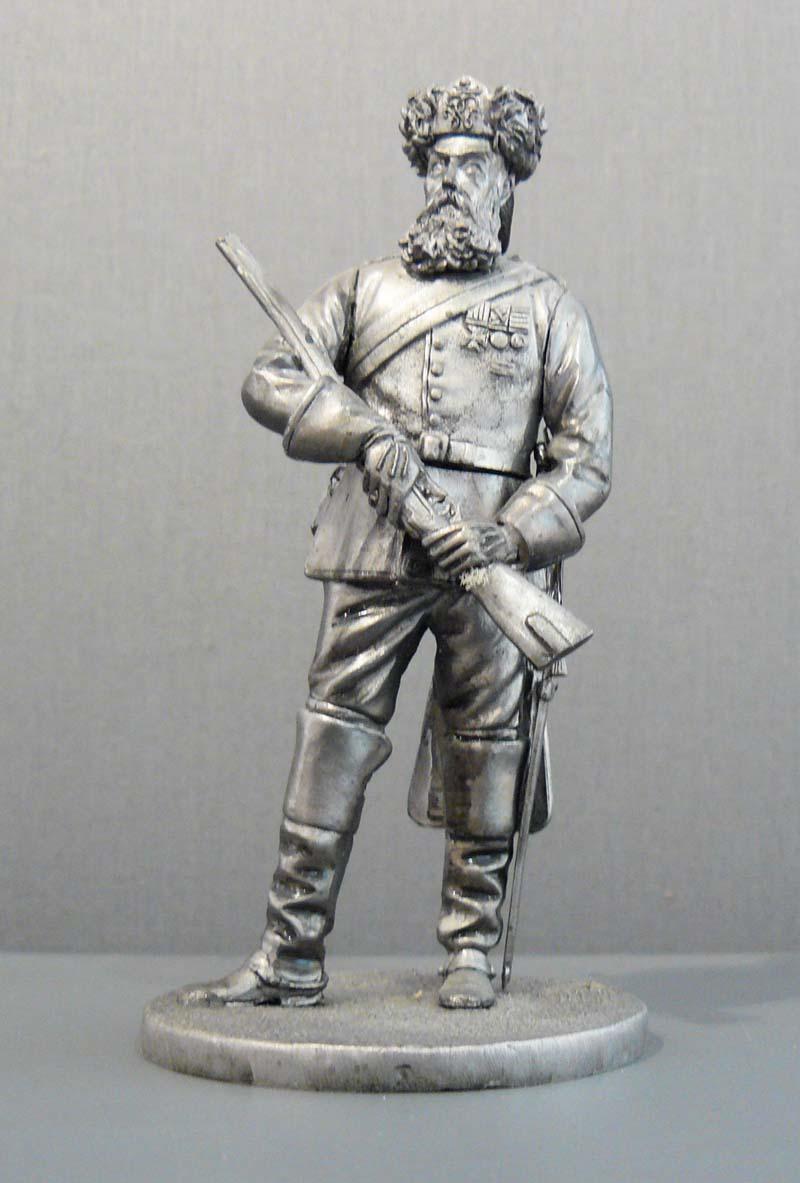 Bückeburger Jäger, 13 cm hoch