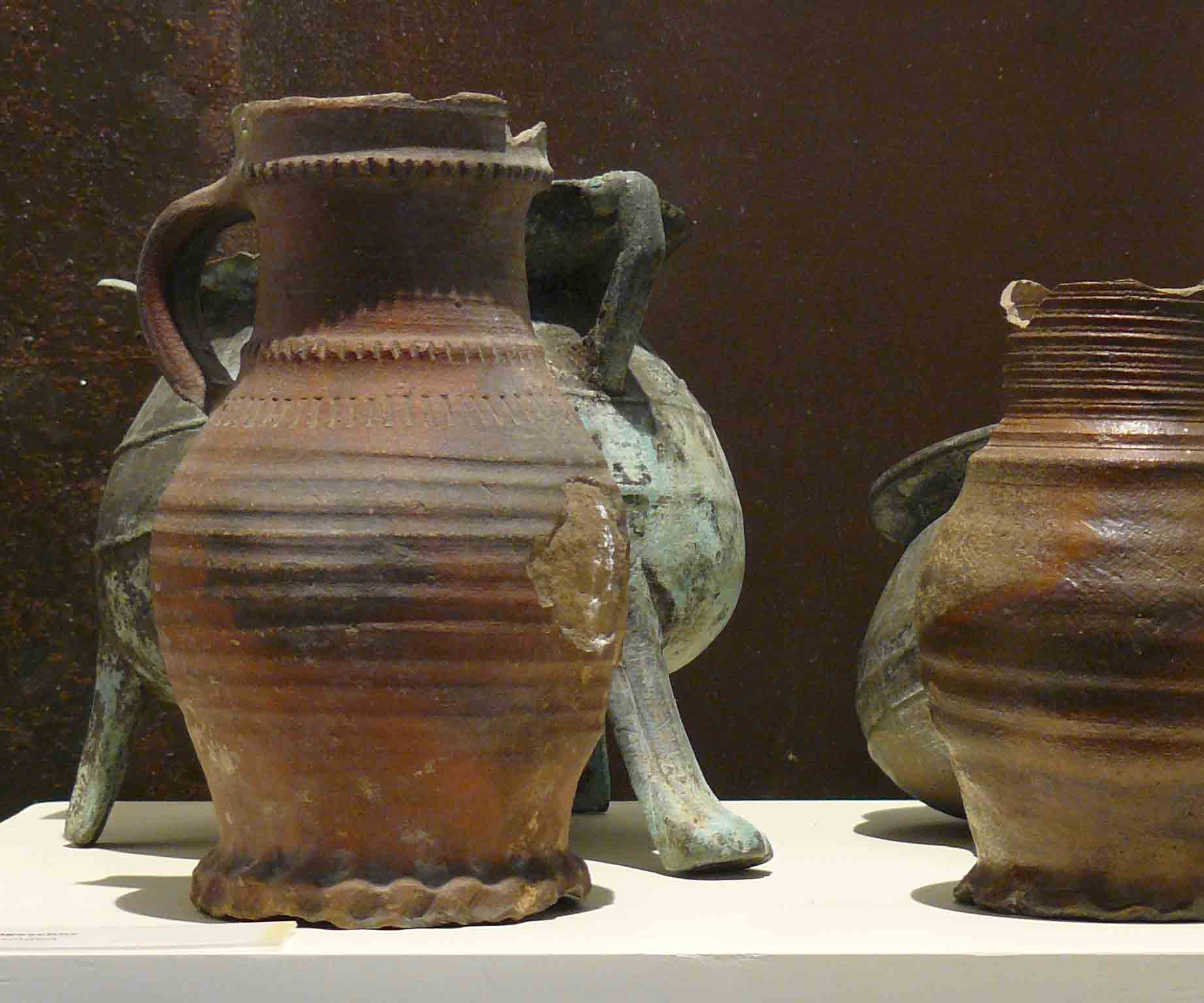 Archäologie, Mittelalterliche Krüge und Grapen