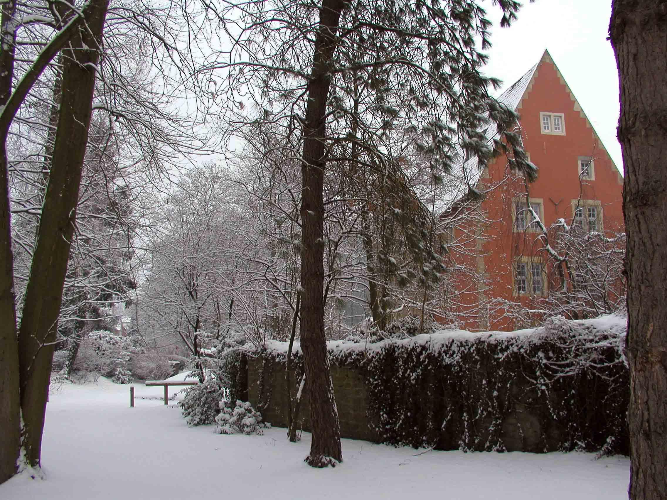 Eulenburg im Schnee