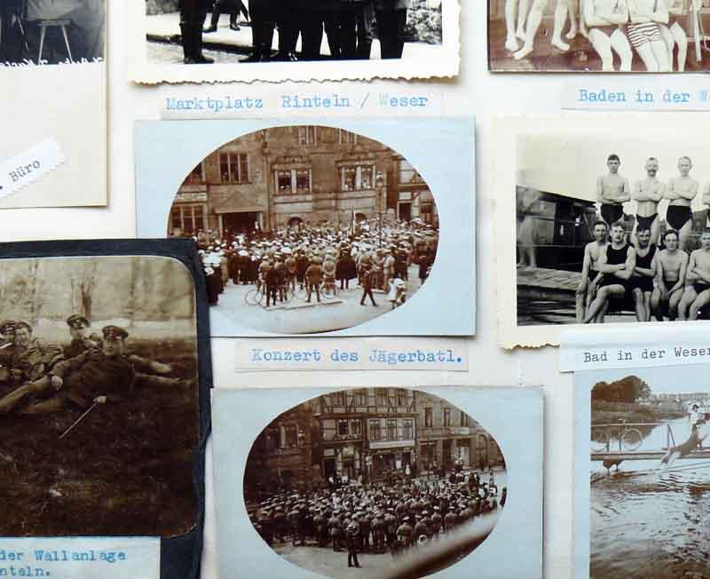 Fotos des Rintelner Jägerbataillons