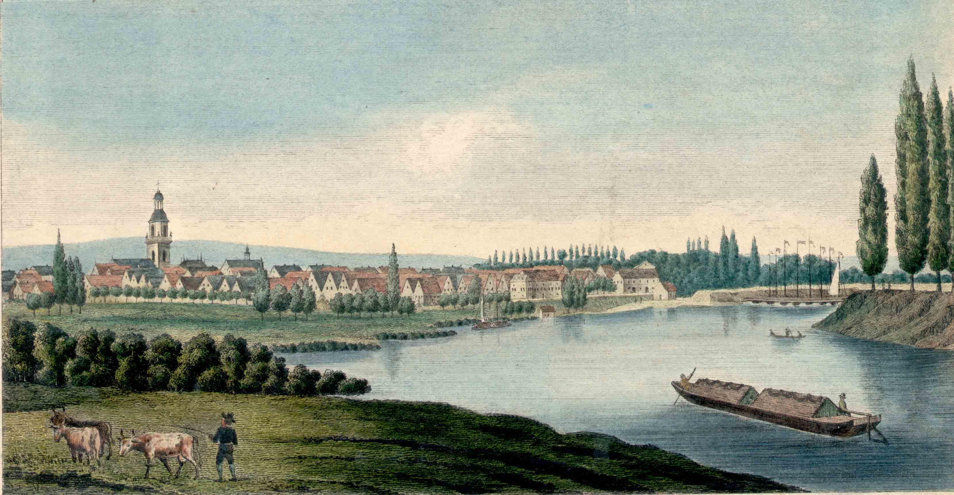 Rinteln um 1845