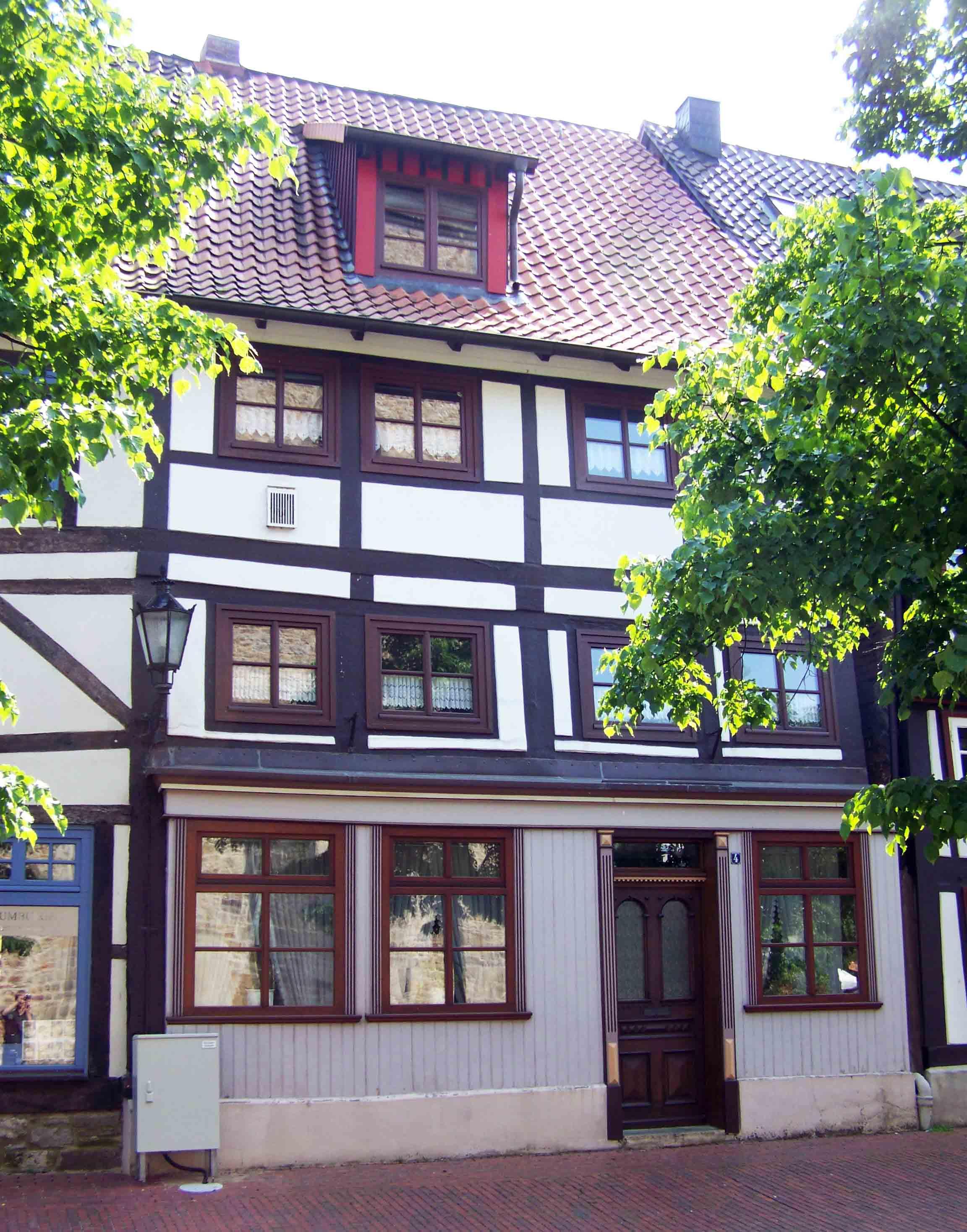 Volckmar-Haus am Kirchplatz in Rinteln