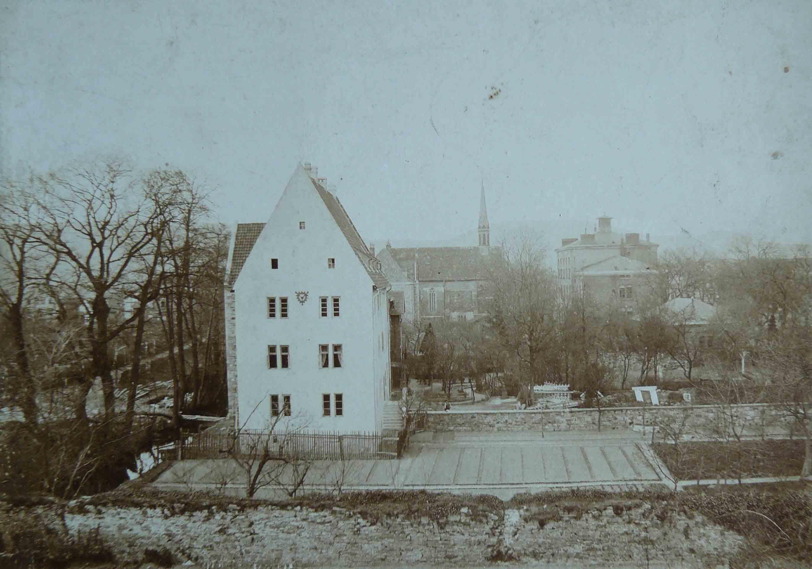 Eulenburg von Süden, um 1910